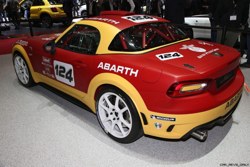 2016 Abarth 124 Rally Prototype 10