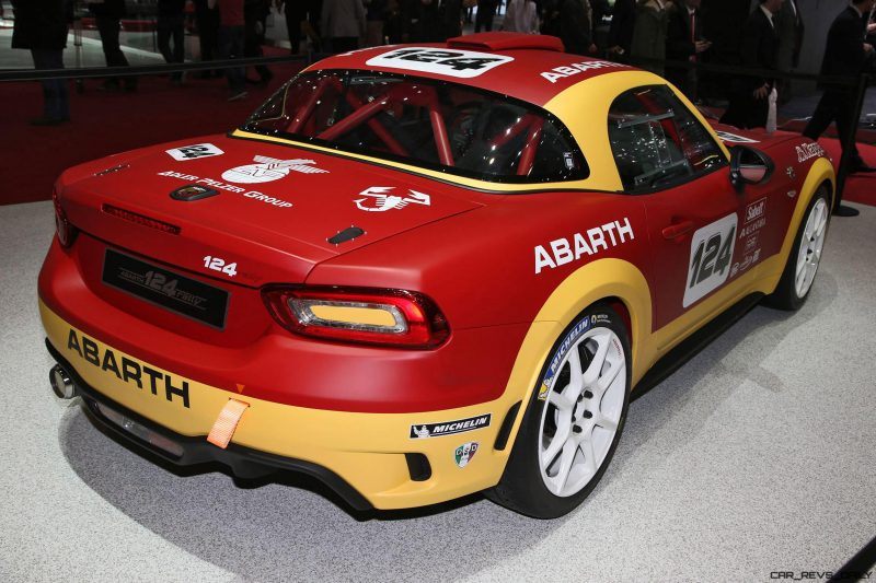 2016 Abarth 124 Rally Prototype 11