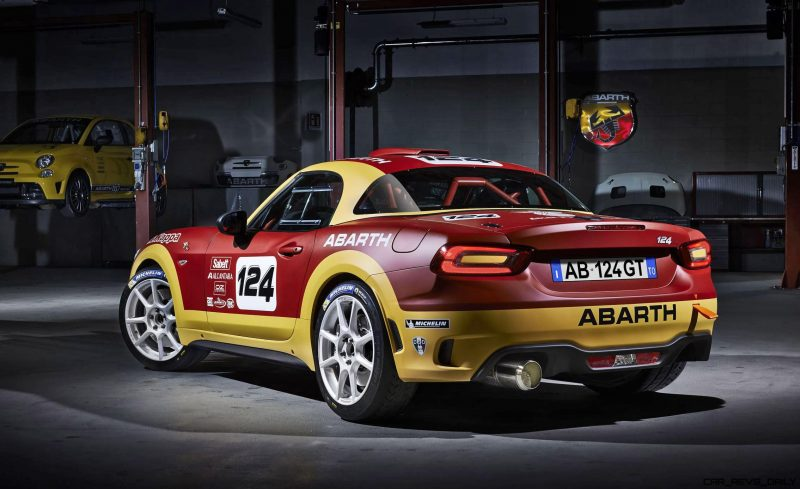 2016 Abarth 124 Rally Prototype 2