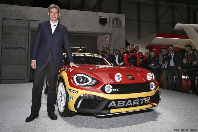 2016 Abarth 124 Rally Prototype 3