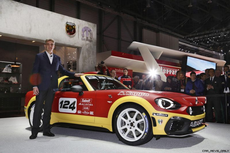 2016 Abarth 124 Rally Prototype 4