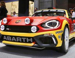 Best of Geneva – 2016 Abarth 124 Rally Prototype – 300HP Kicks Off 2017 Abarth Racing Revival
