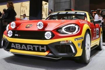 Best of Geneva – 2016 Abarth 124 Rally Prototype – 300HP Kicks Off 2017 Abarth Racing Revival