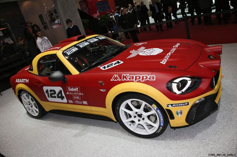 2016 Abarth 124 Rally Prototype 8