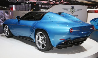 2016 Alfa Romeo DISCO VOLANTE SPYDER by Touring Superleggera 4
