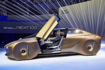 2016 BMW Vision Next 100 - Nightmare Blob Shows Why BMW Sales Are Tanking