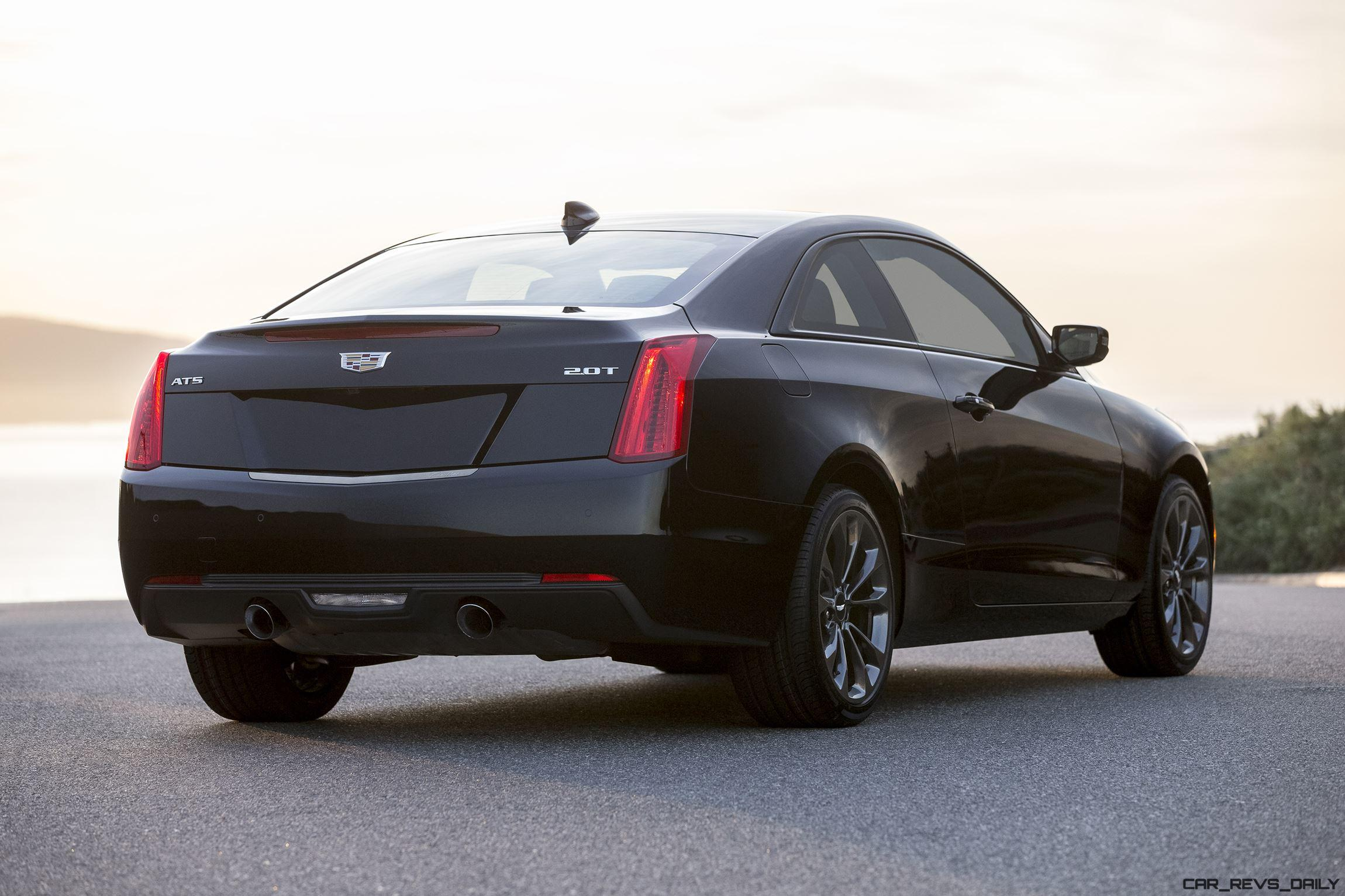 2016 cadillac ats and cts score much needed black packs. Black Bedroom Furniture Sets. Home Design Ideas