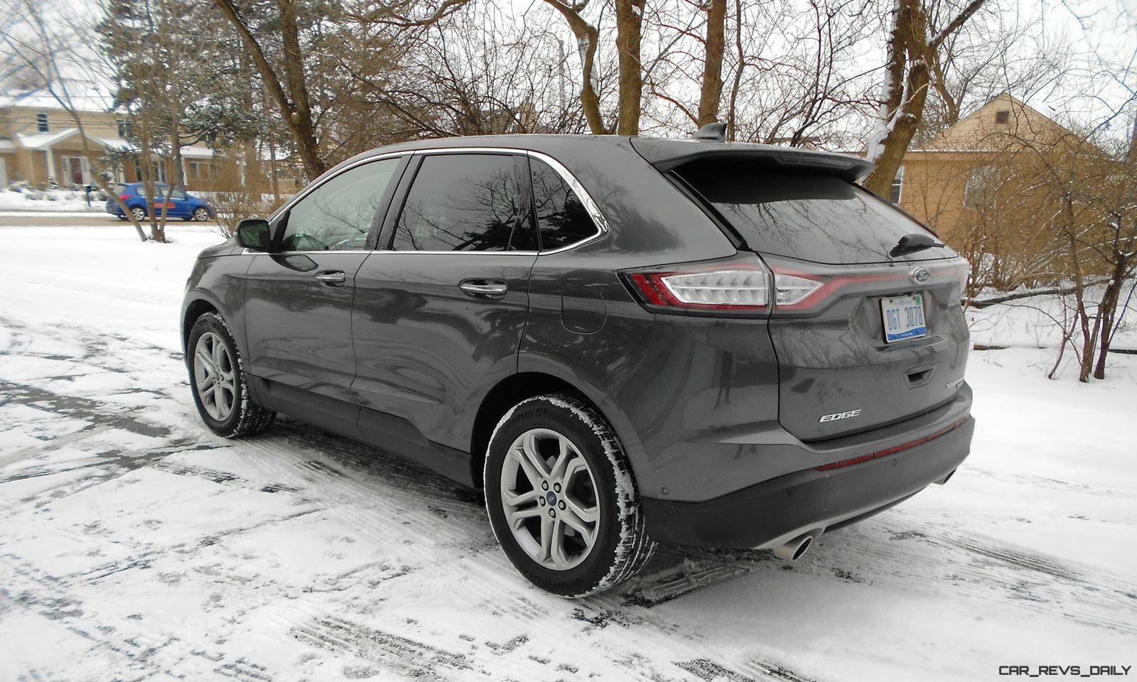 Awesome Hawkeye Drives 2016 Ford EDGE Titanium AWD Review