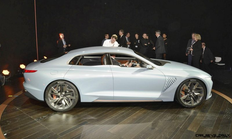 2016 Genesis New York Concept Design Analysis Live Photos