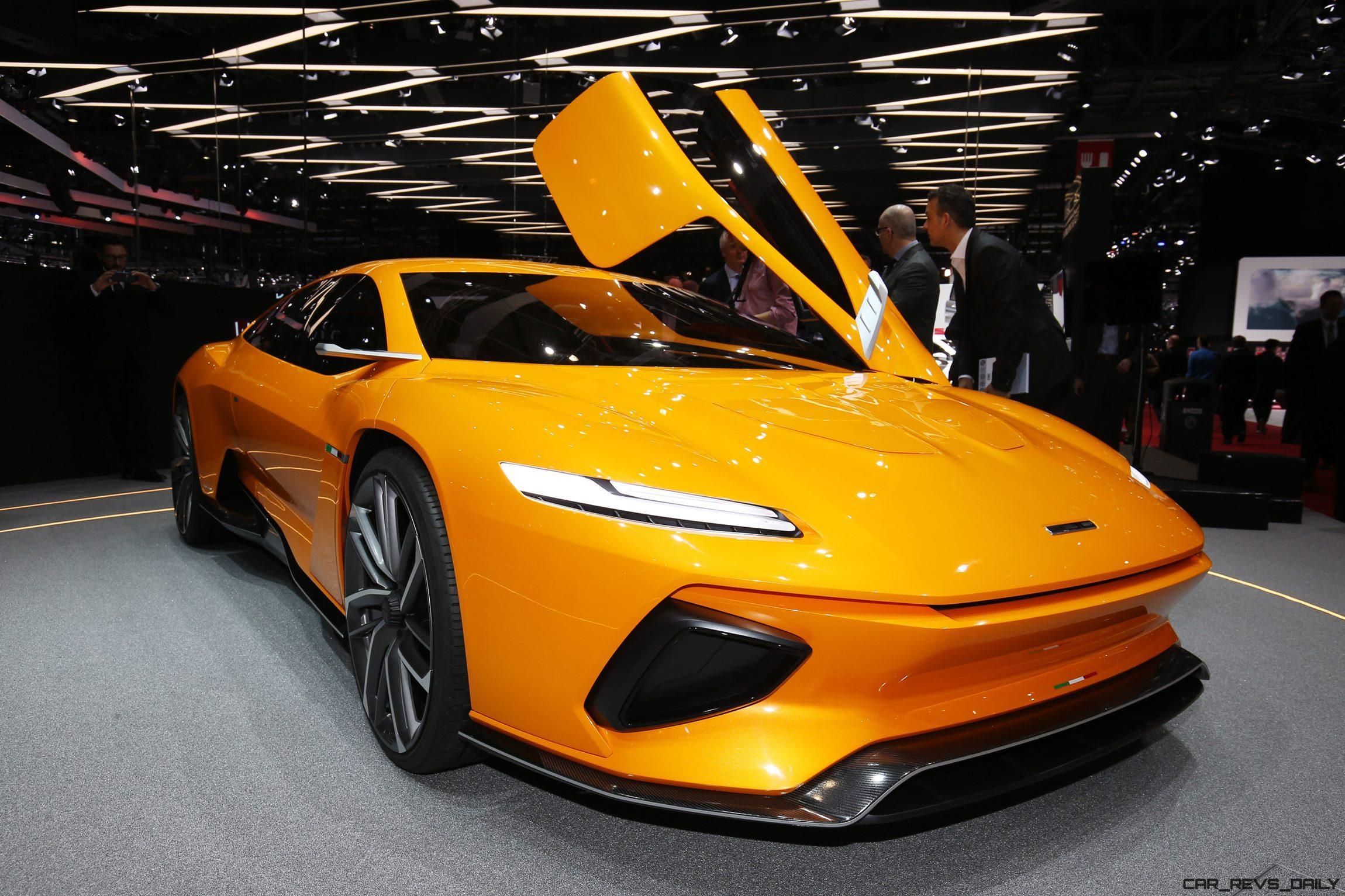 2016 italdesign giugiaro gtzero for Concept car 2016