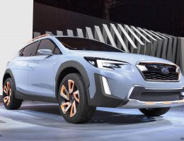 Geneva Debuts – 2016 Subaru XV Concept – Less Hideous, More Production-Ready