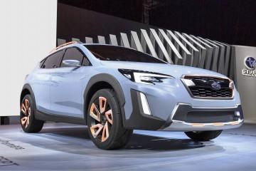 Geneva Debuts – 2016 Subaru XV Concept – Less Hideous, More Production-Ready
