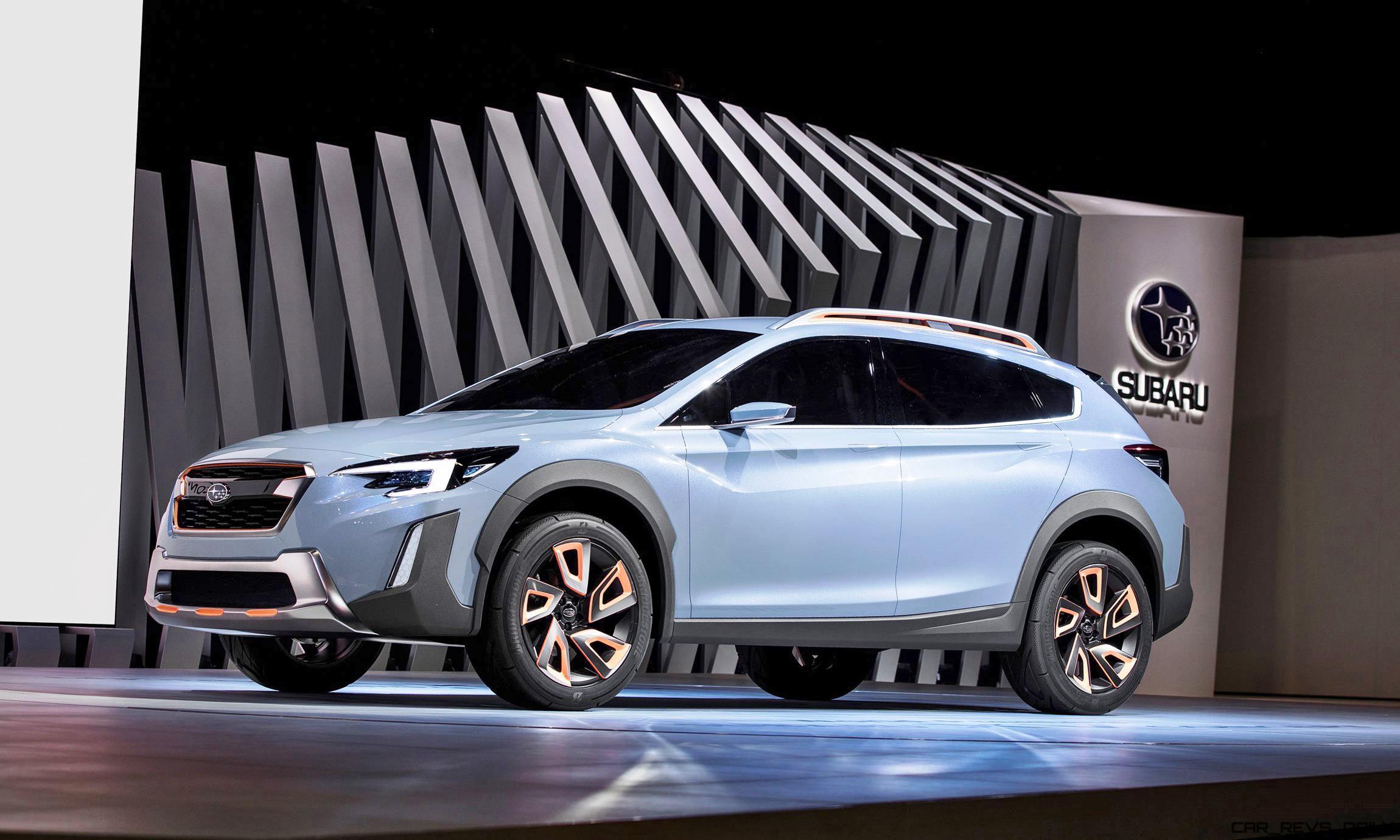 Geneva Debuts 2016 Subaru XV Concept Less Hideous More