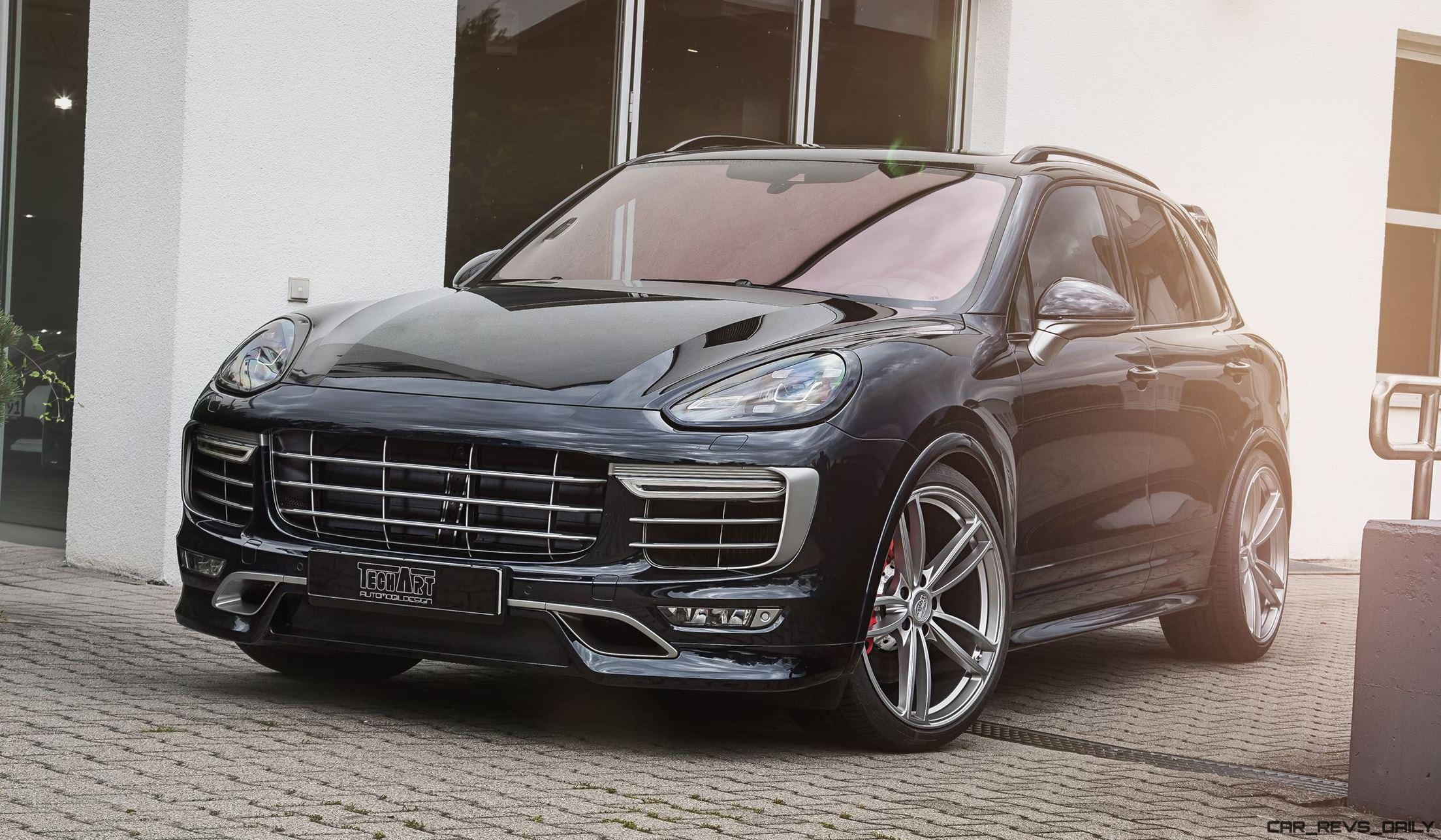 techart magnum sport for porsche cayenne is new carbon. Black Bedroom Furniture Sets. Home Design Ideas