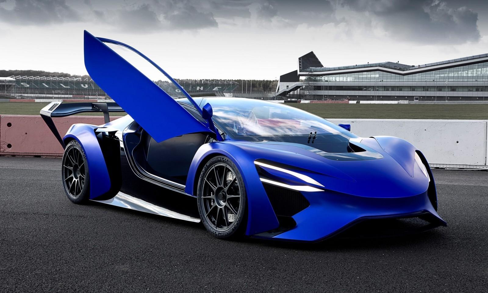Techrules Trev Supercar Concept
