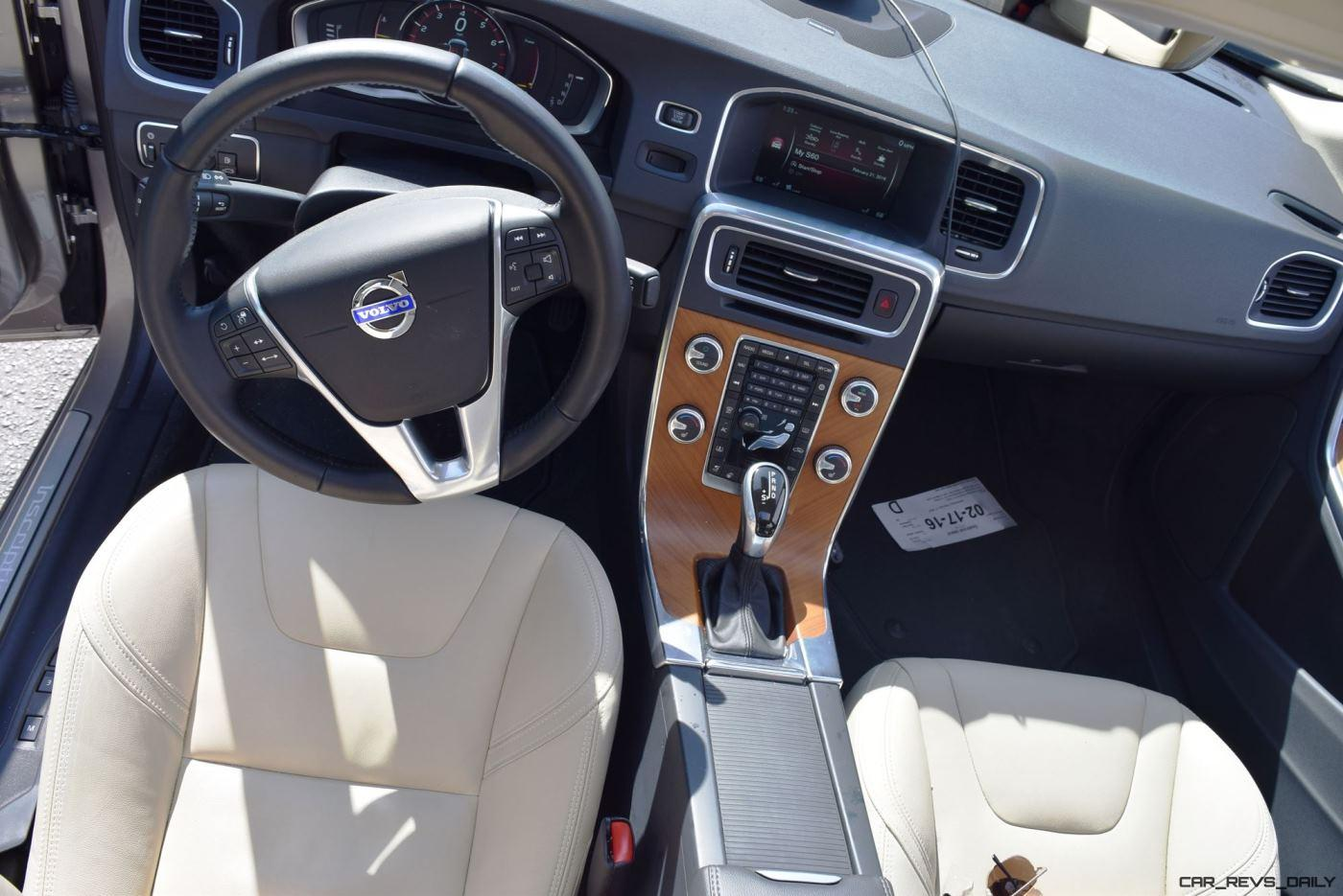2017 Volvo S60 T5 Dynamic >> 2016 Volvo S60 Inscription - INTERIOR PHOTOS 9