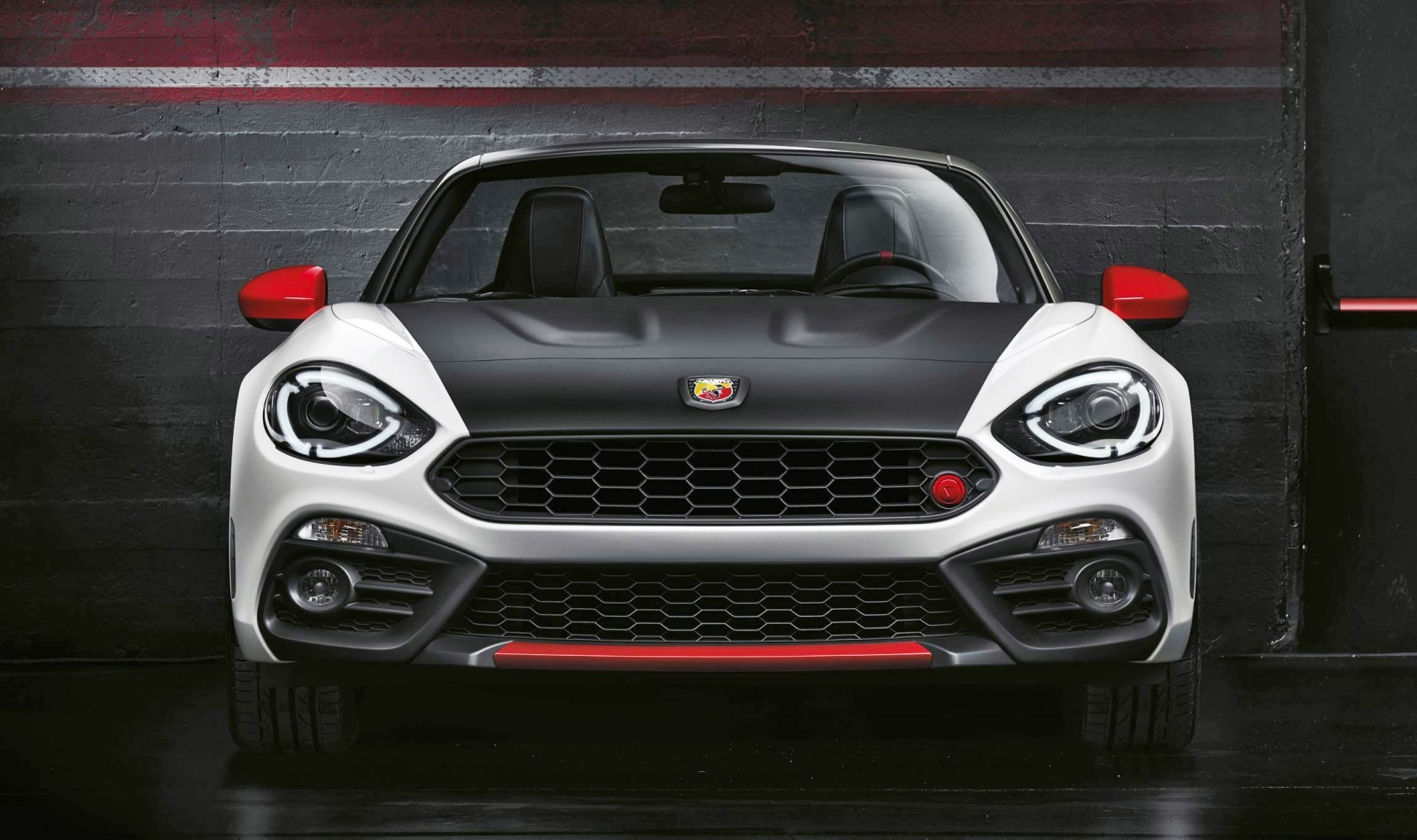 2017 abarth 124 spider boosted turbo shouty exhaust and butch body mods. Black Bedroom Furniture Sets. Home Design Ideas
