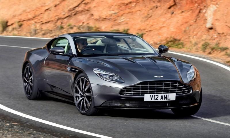 2017 Aston Martin DB11 Exterior 12