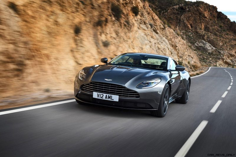2017 Aston Martin DB11 Exterior 16