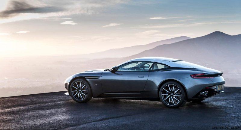 2017 Aston Martin DB11 Exterior 4