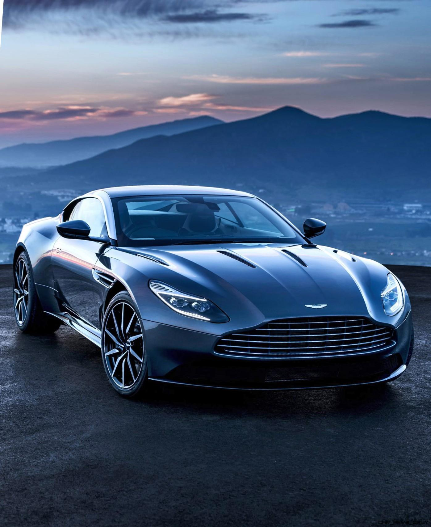 200mph 2017 aston martin db11 all new v12tt design and tech. Black Bedroom Furniture Sets. Home Design Ideas