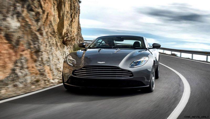 2017 Aston Martin DB11 Exterior 8