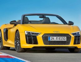 2017 Audi R8 Spyder V10 – World Debut in NYC