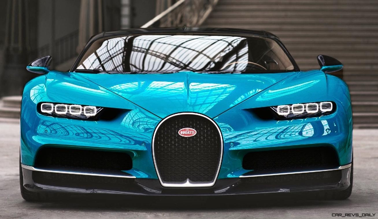 2017 Bugatti CHIRON Colors Visualizer 50 Shades of