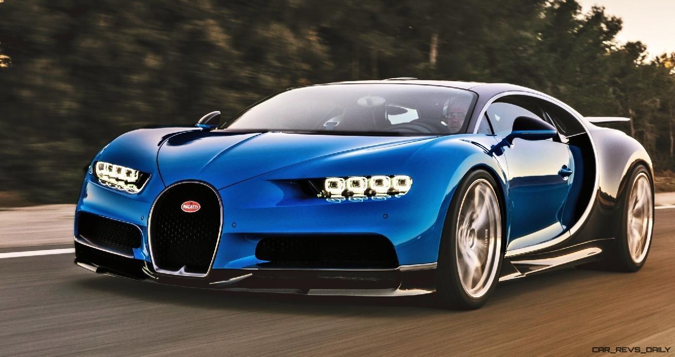 2017 Bugatti CHIRON - Colors Visualizer - 50 Shades of 300mph BOSS!