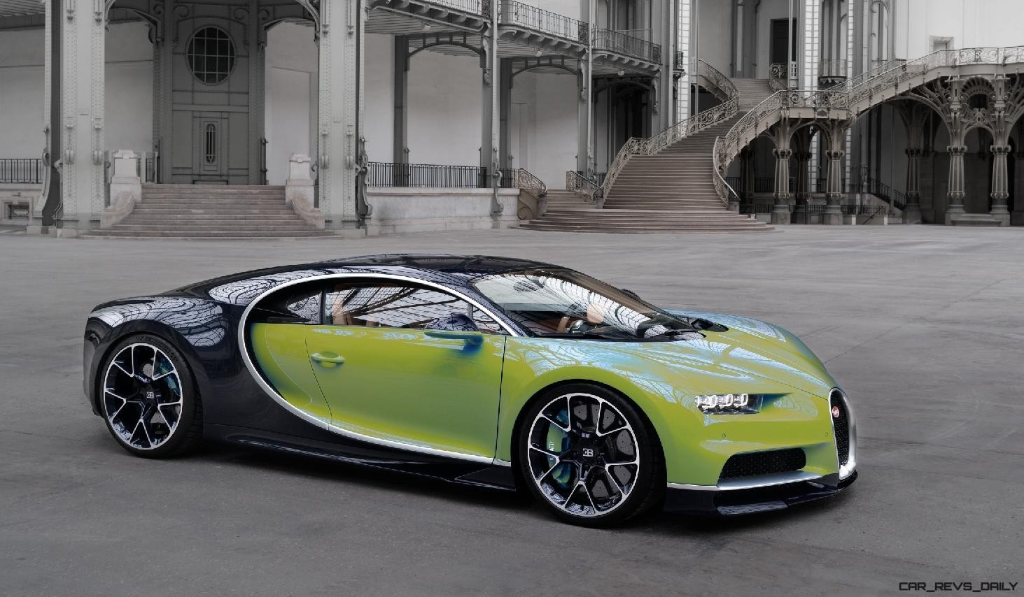 Car Visualizer: 2017 Bugatti CHIRON