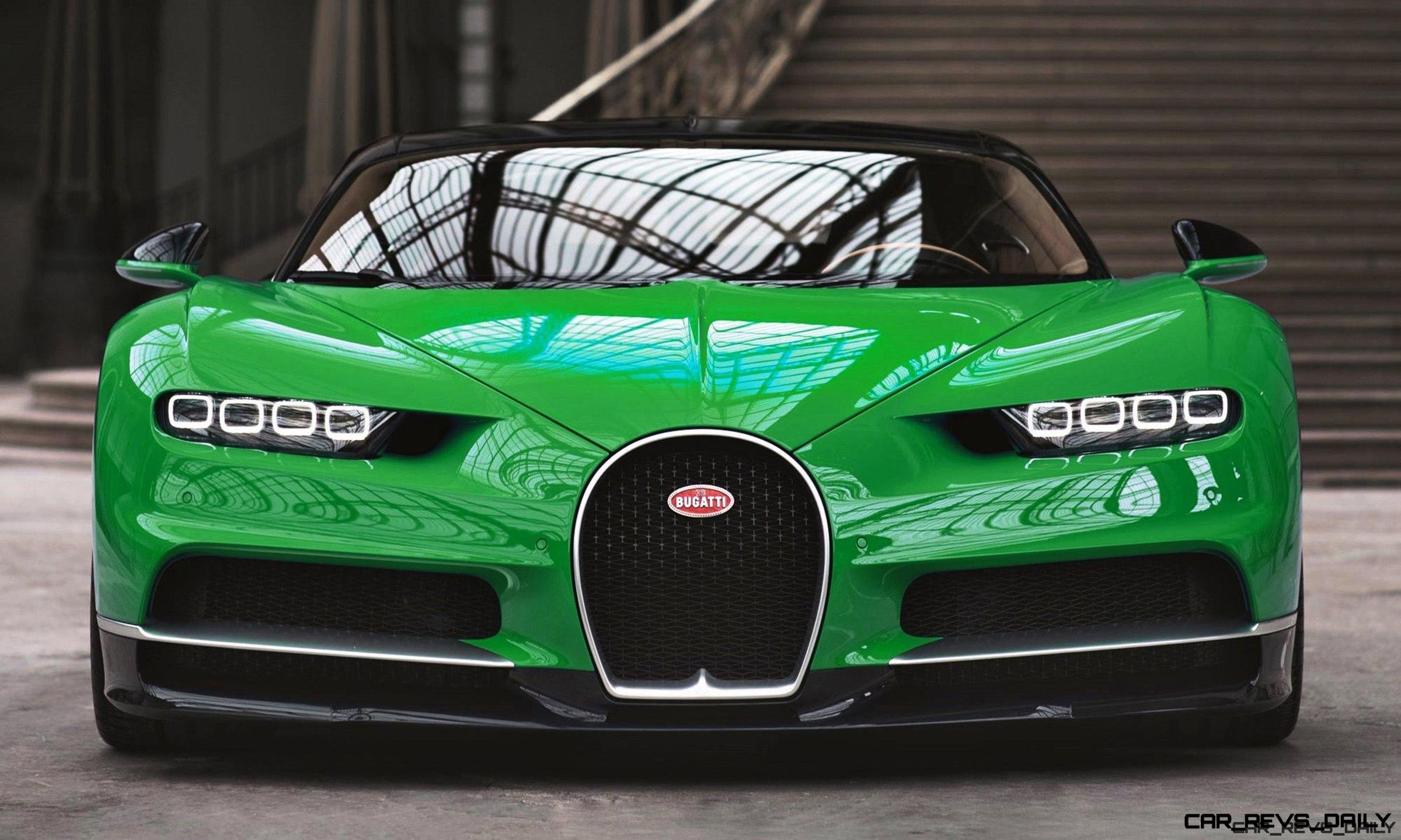 2017 Bugatti Chiron Colors Visualizer 50 Shades Of 300mph Boss