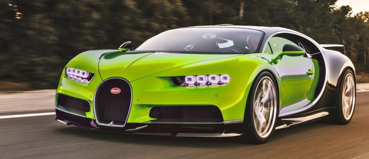 2017 Bugatti Chiron Colors Visualizer 50 Shades Of 300mph Boss