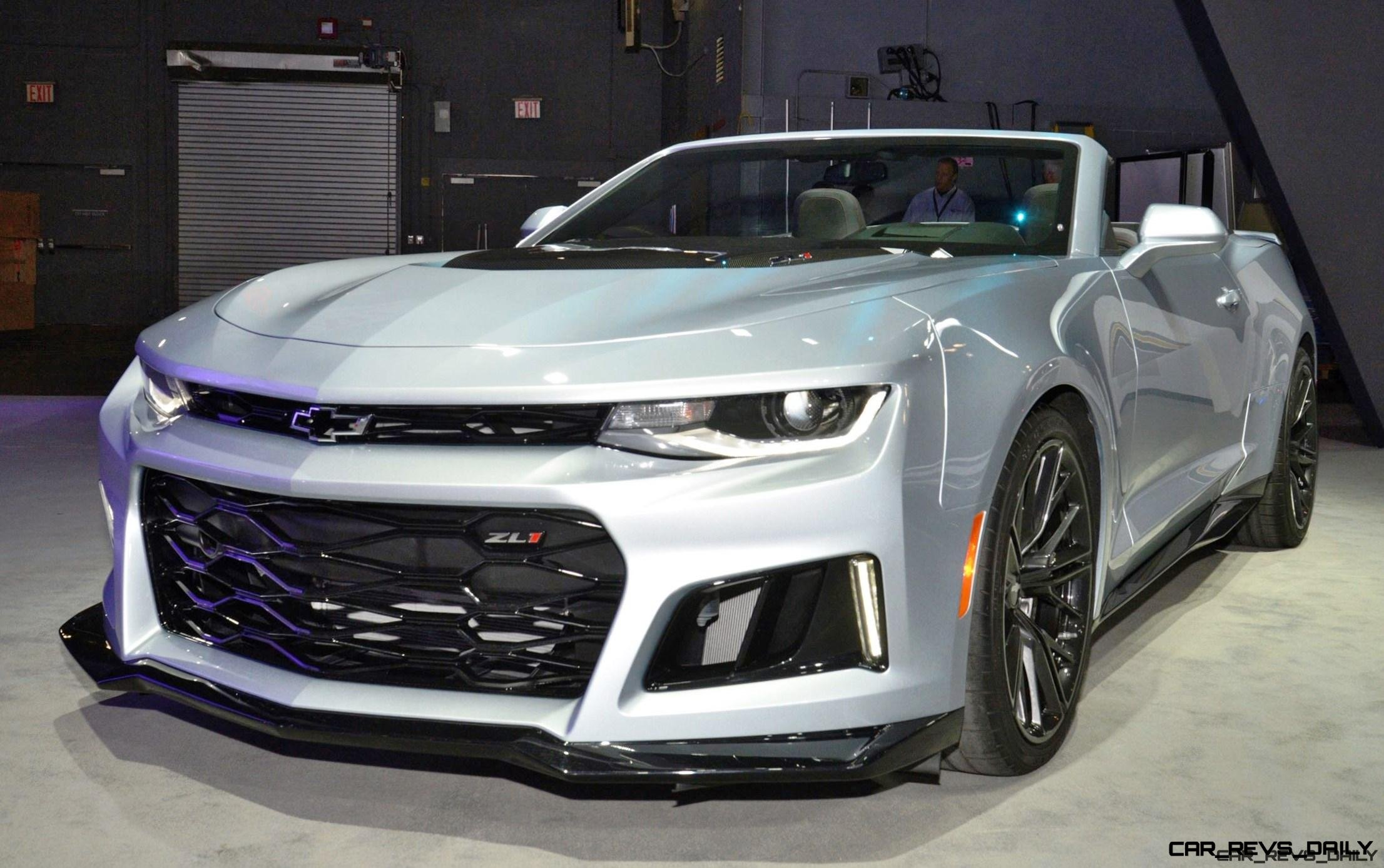 3 5s 2017 Chevrolet Camaro Zl1 Convertible Live Photos