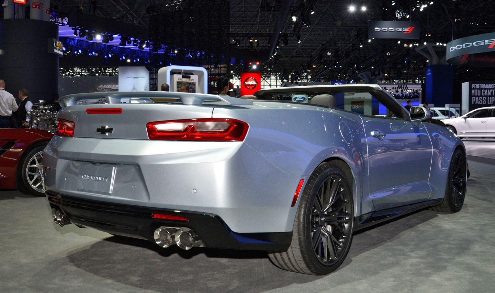 2017 chevrolet camaro zl1 convertible live photos tech details track video. Black Bedroom Furniture Sets. Home Design Ideas