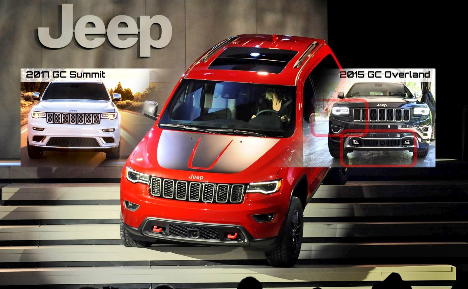 #NYIAS - 2017 JEEP Grand Cherokee Trailhawk and Summit ...