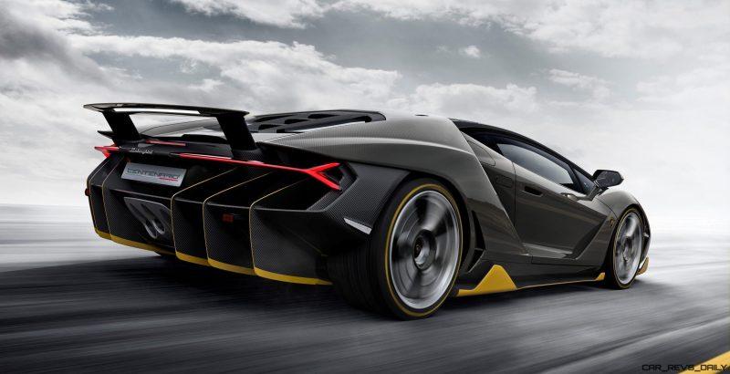 2017 Lamborghini CENTENARIO 4