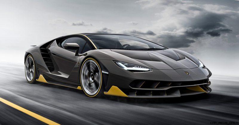 2017 Lamborghini CENTENARIO 5
