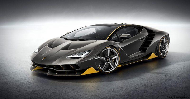 2017 Lamborghini CENTENARIO 8