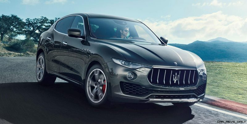 2017 Maserati Levante - Dynamic  Photos  2