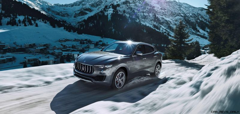 2017 Maserati Levante - Dynamic  Photos  3
