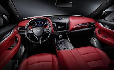 2017 Maserati Levante Interior 2