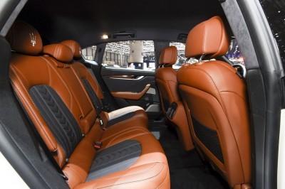 2017 Maserati Levante Interior 5