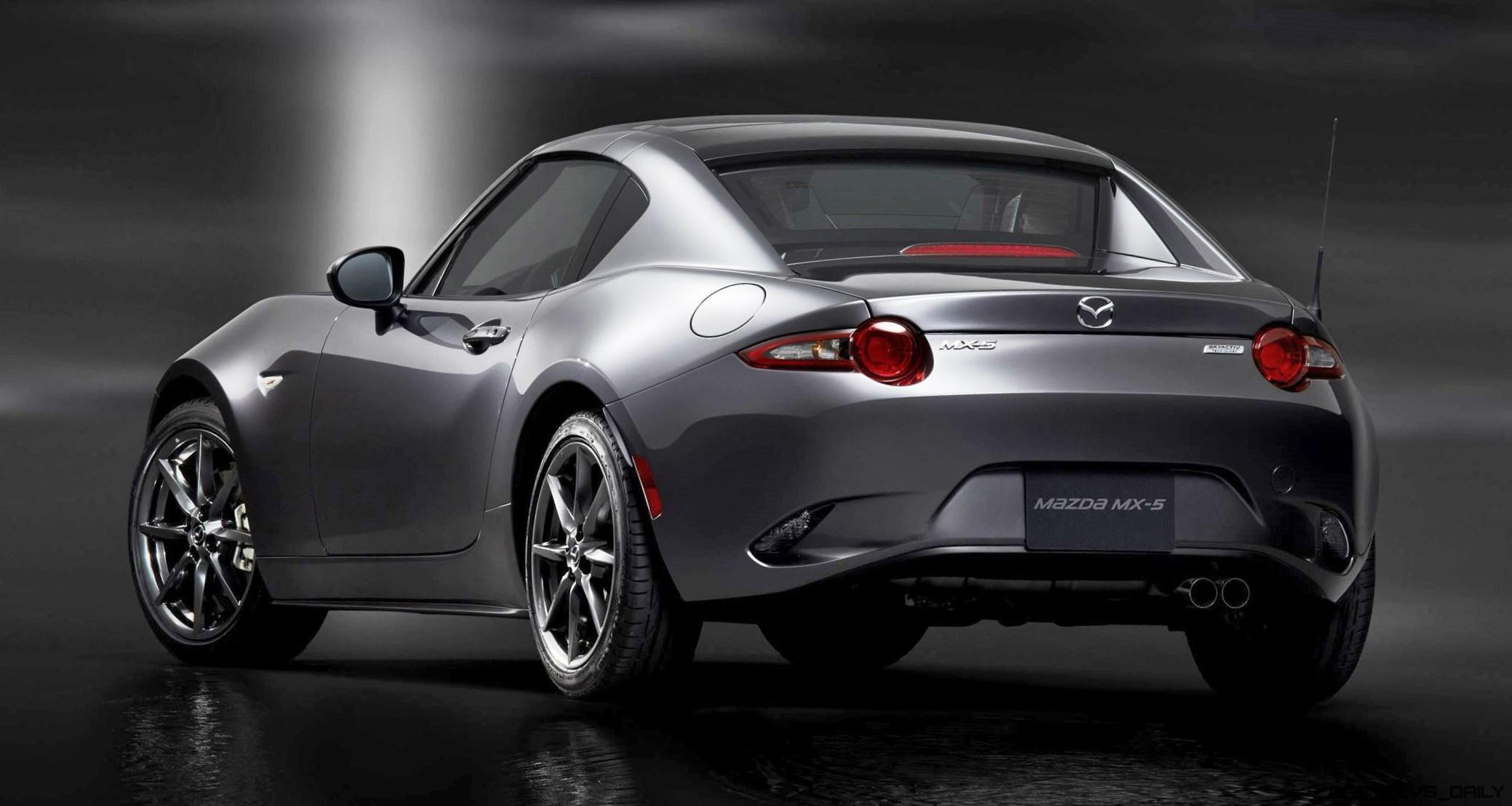 nyias 2017 mazda mx 5 rf retractable fastback is new gt86 rival. Black Bedroom Furniture Sets. Home Design Ideas