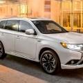 NY Debuts - 2017 Mitsubishi Outlander PHEV Hybrid - Li-ion eAWD 7-Seater