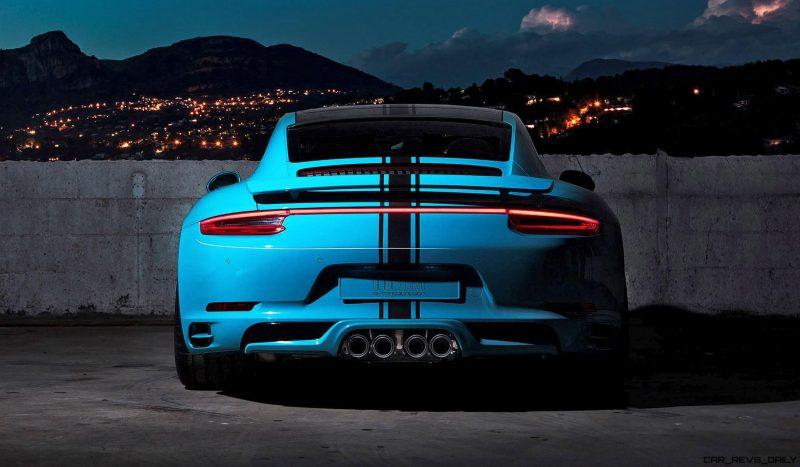 2017 Porsche 911 Carrera S by TechArt 4