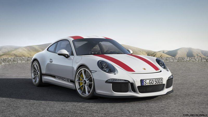 2017 Porsche 911R 2
