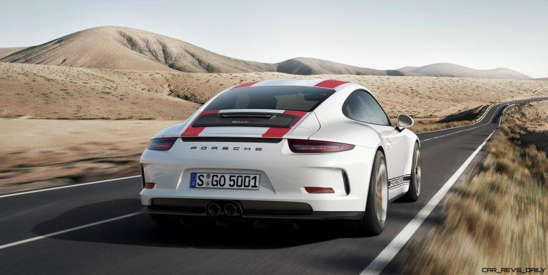 2017 Porsche 911R 5
