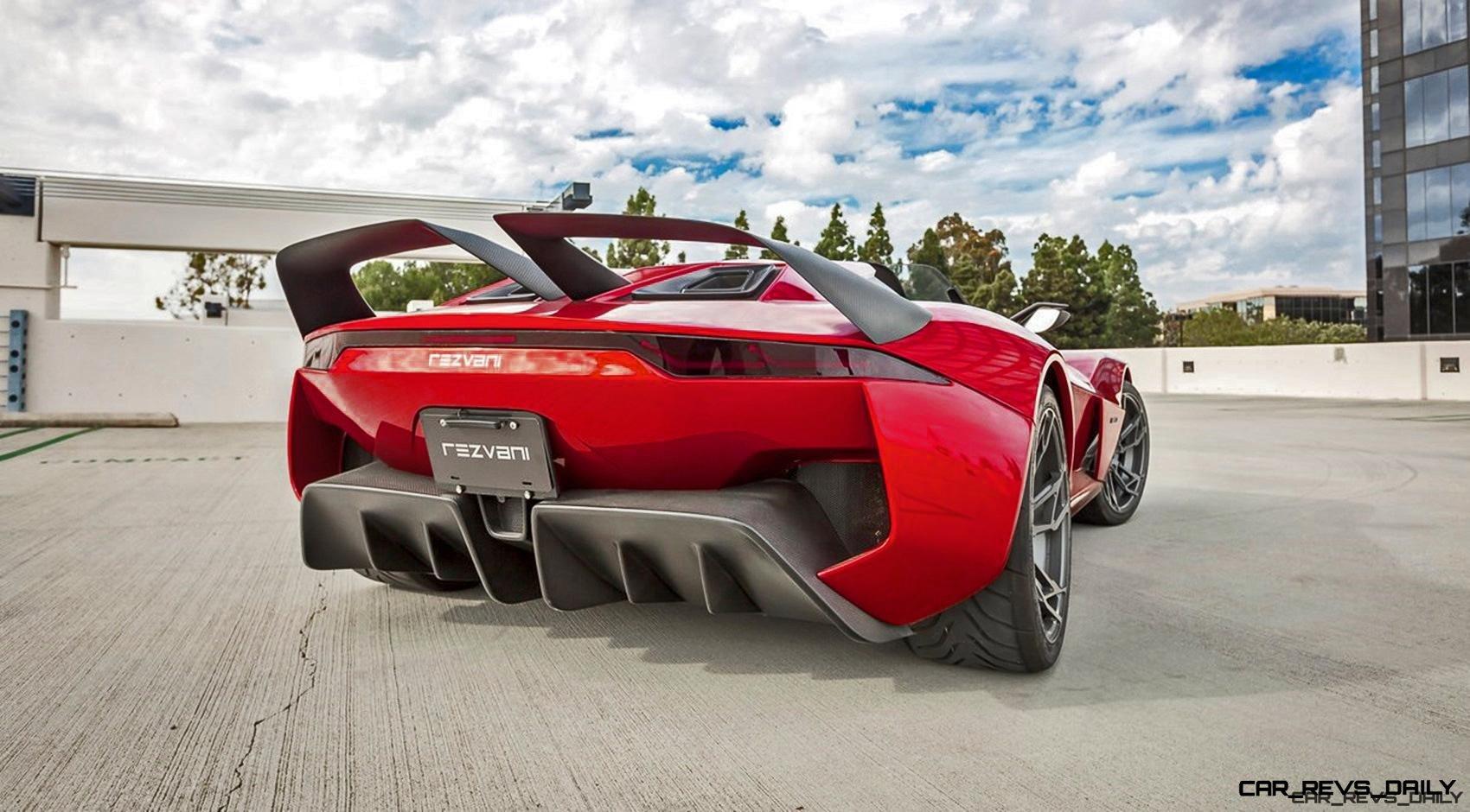 700hp 2 5s 2017 Rezvani Beast X Wild Carbon Wings Monster Boost For Street Legal Racecar Car Revs Daily Com