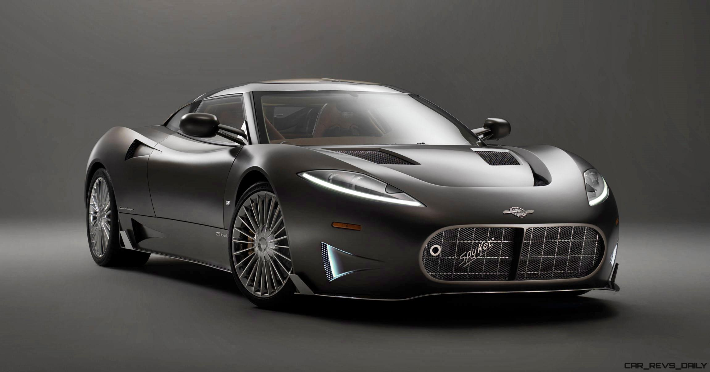 Exotic Euro Cars >> 2017 SPYKER C8 Preliator - Sharp 3rd-Gen Exotic is Coming to America!