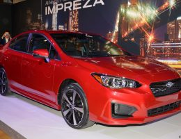 2017 Subaru IMPREZA SPORT and 5-Door – Live NY Debut